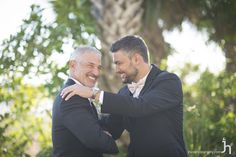 Father and son pictures before the wedding are classic and should not be forgotten! Capture your father/son moment right next to the beach in Sarasota, FL!