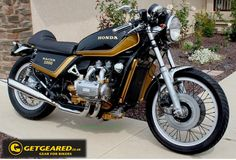 Wicked Wheels Wednesday: How's that for a Goldwing! #WickedWheels #GetGeared