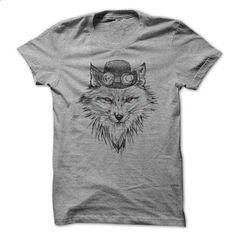 Wolves - teeshirt cutting #shirt #style