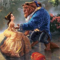 Bella Disney, Walt Disney, Disney Amor, Cute Disney, Disney Magic, Princess Disney, Princess Belle, Thomas Kinkade Disney, Disney E Dreamworks