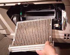 replacing cabin air filter