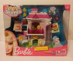 Blip Toys Squinkies Barbie Dream House Dispenser Playset New Suprize Inside #BlipToys