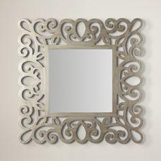 One Allium Way Wall Mirror Mirror Room, Floor Mirror, Wall Mirror, Cnc Cutting Design, Decorative Pillows, Allium, Dining Tables, Home Decor, Products