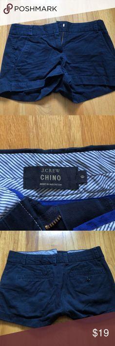 JCREW chino shorts Navy blue chino shorts from jcrew J. Crew Shorts