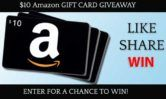 $10 Amazon Gift Card Giveaway  Open to: United States Ending on: 08/01/2017 Enter for a chance to win a $10 Amazon Gift Card. Enter this Giveaway at Hats and Caps reviews Blog  Enter the $10 Amazon Gift Card Giveaway on Giveaway Promote.