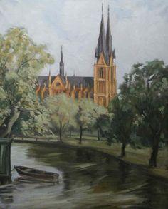 Ernst Nilsson (1892-1937): Domkyrkan (for more on Nilsson, see http://www.vasakonst.com/Ernst%20nilsson%20minnesutstallning%202005/ernst_nillsson_minnesust..htm)