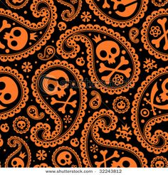 paisley halloween |Pinned from PinTo for iPad|