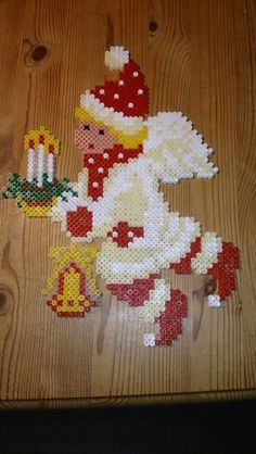 Angel Christmas hama perler beads