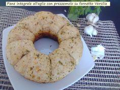 Pane+integrale+all'aglio+con+prezzemolo+nel+fornetto+Versilia