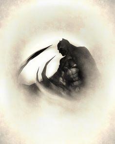 Based on the batman of Simon Bisley.