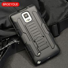 BROEYOUE Case For Samsung Galaxy S6 S7 Edge S4 S5 Note 3 4 5 G530 Case Cover For IPhone 6 6S Plus 5S SE Cover Belt Clip Holster
