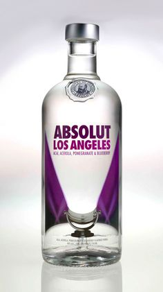 Packaging of the World: Creative Package Design Archive and Gallery: ABSOLUT Los Angeles