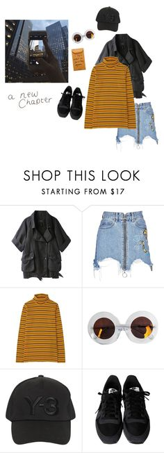 """🕰"" by jjjaayyyyccccc ❤ liked on Polyvore featuring Isabel Marant, Marcelo Burlon, Uniqlo, Karen Walker, Y-3 and NIKE"