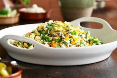 Traditional Mexican is not all about tortillas and enchiladas. Here is a healthy Mexican rice recipe which is low-fat too.