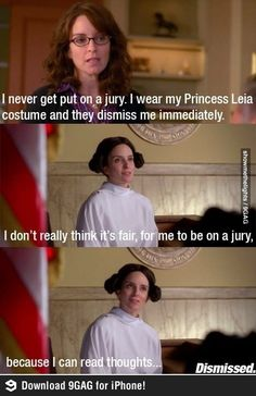 How to avoid jury duty by Tina Fey...Oh joy, just rec'd a jury summons in my mail today...perhaps I should try this :)