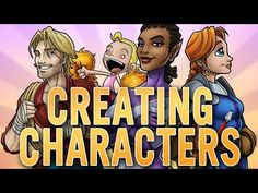 cool Draw with Jazza: CREATING CHARACTERS