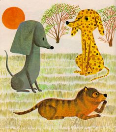 The Spotted Dotted Puppy - illustrated by Art Seiden