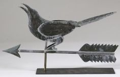 I Absolutely WANT one of these....anyone know where I can get one Made????? ;0) Crow Weather-vane