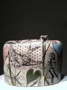 Stephanie Martin- Hand built ceramics