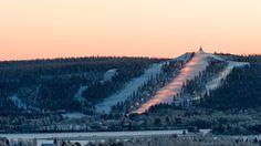 Ounasvaara Ski Resort - Rovaniemi, Lapland, Finland