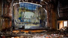 An abandoned theater in Cleveland. Photographer Seph Lawless has documented the modern ruins and decaying, abandoned buildings in Cleveland, East Cleveland and the northern Ohio area. (Seph Lawless)