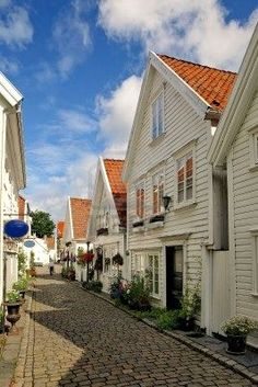 Gamle (Old) Stavanger; the same neighborhood where my Grandpa's cousins used to live