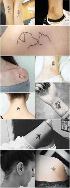 Mini Tattoos, Cute Tiny Tattoos, Bff Tattoos, Little Tattoos, Body Art Tattoos, Small Tattoos, Sleeve Tattoos, Cool Tattoos, Tattos