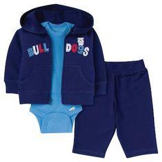 Gerber® Newborn Boys' 3pc Dog Bodysuit