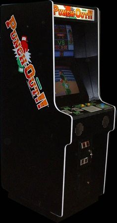 Punch-Out! arcade cabinet