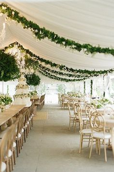 white tent wedding reception ideas with greenery decorations Luxury Wedding, Dream Wedding, Wedding Day, Chic Wedding, Wedding Tips, Wedding Parties, Wedding Scene, Wedding Church, Wedding Country