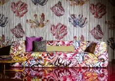 Missoni Home. Woven and knitted, printed and embroidered fabrics.  http://www.missonihome.it/