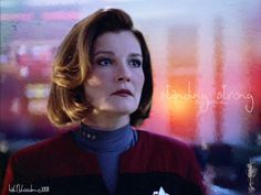 "Captain Janeway - I loved the character (but hated the ""artisan bread"" bun hairstyle). They created an entire series around a female captain, taking a crew into one of the most perilous and impossible missions ever- and wove in some complex human and political themes. Classic trek."
