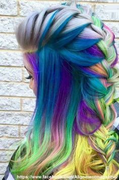 This is a hair inspiration for me I live for this!