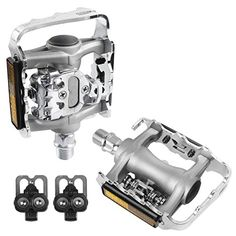 VENZO MultiUse Shimano SPD Compatible Mountain Bike Pedals ** Continue to the product at the image link. (Note:Amazon affiliate link) #BicyclePedals
