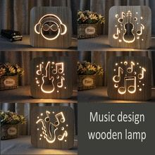 Buy 3d Lamp Wood And Get Free Shipping On Aliexpress Com Lamp Decor Night Light 3d Lamp