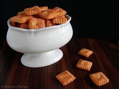 Homemade Cheez-Its -