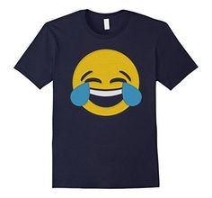 Emoji T-Shirt Laugh Smile Tears Emoticon