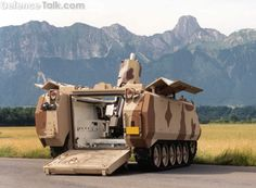 ACV-SPM120 (SELF PROPELLED MORTAR 120mm) - Military Pictures - Air Force Army…