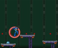 Help Megaman in this platform game to discover who is behind the intrusions, and defeat all the enemies in your way to accomplish your objective.