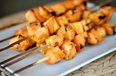 Grilled Sweet Potato Skewers #Grill #Recipes