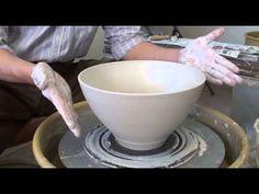 171. Throwing a Thin Wall 4-lb Bowl with Hsin-Chuen Lin - YouTube