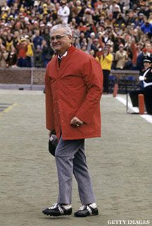 Why Woody Hayes Remains College Football's Most Complex Yet Underappreciated Subject Oregon Ducks Football, Ohio State Football, Ohio State University, Ohio State Buckeyes, American Football, College Football, Buckeye Game, Buckeyes Football, Woody Hayes