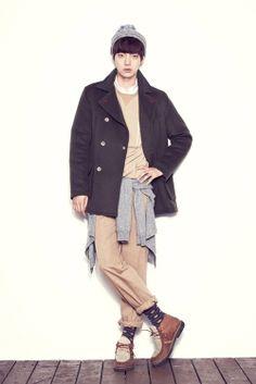 Ahn Jae Hyun at Steve J and Yoni P Fall 2012 collection