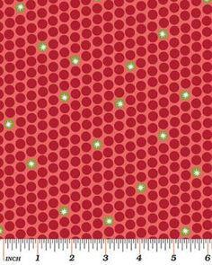 Starry Dots Red - Na ponta d'agulha
