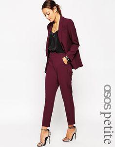Immagine 1 di ASOS PETITE - Premium - Pantaloni sartoriali basic