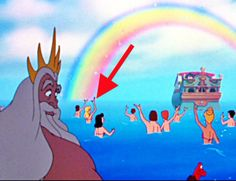Which Random Disney Background Character Are You?