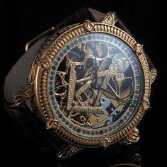 Mens Diamond 1917 Patek Philippe Co Vintage Skeleton Watch Masonic Symbol | eBay