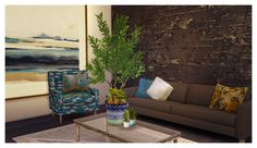 Sims 4 CC's - The Best: TS3 August Living Room Set Conversions by TempdiaS...
