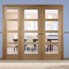 Easi-Frame Oak Door Set, GOSHA4L-COEOP14L, 2005mm Height, 2194mm Wide. #oakdoor #internaloakdoors #easiframedoors