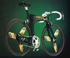 Lotus sport 110 with mavic mektronic